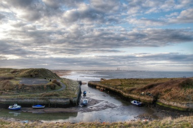 View from Seaton Sluice to Blyth