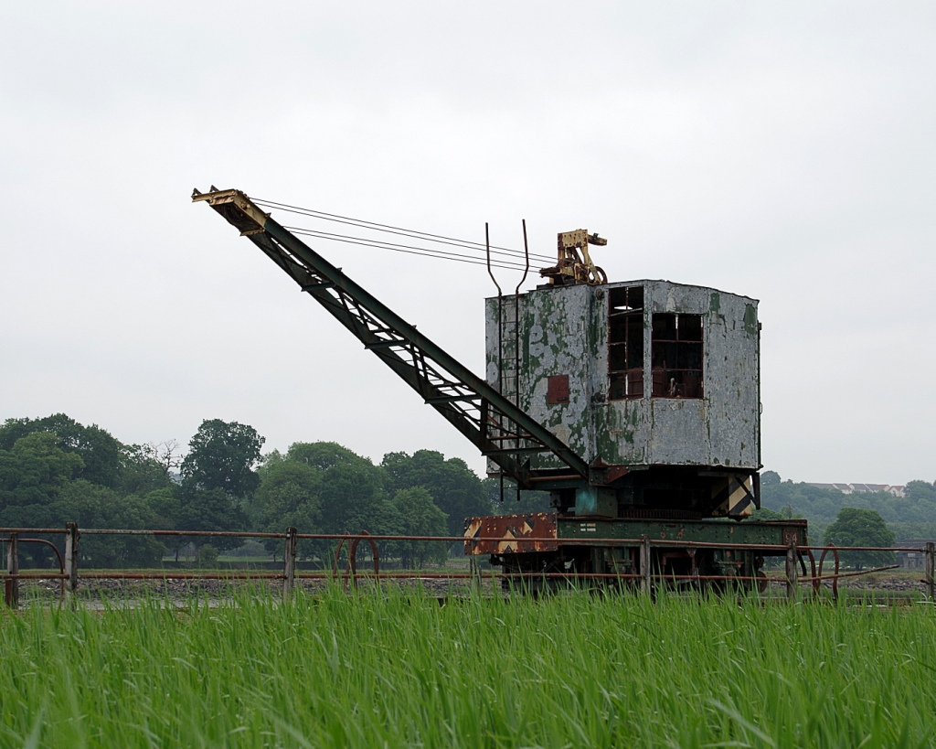Jetty crane