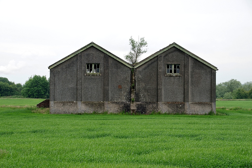 Old munition buildings