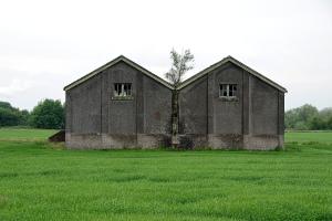 Old munition buildings